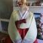 """Hanbok เขียวอ่อนคลาสสิคปักมือดิ้นทอง อก 39"""" สูง 160 thumbnail 2"""