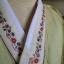 """Hanbok เขียวอ่อนคลาสสิคปักมือดิ้นทอง อก 39"""" สูง 160 thumbnail 4"""