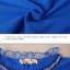 UM6102010 เสื้อยืดแขนยาวโมฮีเมียนสีฟ้า เย็บปักถักร้อยชาติพันธุ์ thumbnail 5
