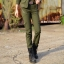 HW6107006 กางเกงขายาวทหารหญิงสีเขียวกองทัพทหาร แฟชั่นเกาหลี (พรีออเดอร์) รอ 3 อาทิตย์หลังโอนเงิน thumbnail 1