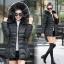 CW6011003 เสื้อโค็ชกันหิมะแต่งเฟอร์ขนผ้าฝ้ายโพลีเอสเตอร์ (พรีออเดอร์) thumbnail 4