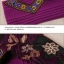 UM6102011 เสื้อยืดแขนยาวโมฮีเมียนสีม่วง เย็บปักถักร้อยชาติพันธุ์ thumbnail 5