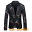 JM6102010 เสื้อสูทลำลองผู้ชายเสื้อสูทงานเลี้ยงพิมพ์ลายแบบตะวันตก thumbnail 6