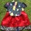 Hanbok Girl ฮันบกผ้าไหม สำหรับเด็ก 1 ขวบ thumbnail 3