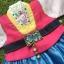 Hanbok Girl ผ้าไหมสีสดใส สำหรับเด็ก 6 ขวบ thumbnail 2