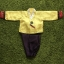 Hanbok Boy ฮันบกผ้าไหมสีเหลือง ม่วง สำหรับเด็กชาย 5ขวบ thumbnail 1