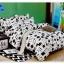 ผ้าปูที่นอนเกรด A ขนาด 6 ฟุต(5 ชิ้น)[AS-239] thumbnail 1