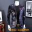JM6102013 เสื้อสูทลำลองผู้ชายเสื้อสูทงานเลี้ยงพิมพ์ลายแบบตะวันตก thumbnail 2