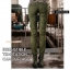 HW6107004 กางเกงทหารหญิงทรงหลวมสีเขียวกองทัพ(พรีออเดอร์) รอ 3 อาทิตย์หลังโอนเงิน thumbnail 5