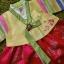 Hanbok Girl ฮันบกผ้าไหมสีสดใส สำหรับเด็ก 6 ขวบ thumbnail 2