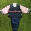 Hanbok Boy ฮันบกผ้าไหมสีกรมท่า สำหรับเด็กชาย 7ขวบ thumbnail 1