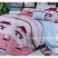 ผ้าปูที่นอน ลายกราฟฟิค ขนาด 6 ฟุต(5 ชิ้น)[GA-07] thumbnail 1