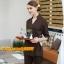 S6102011 ชุดพนักงานนวดสปา ชุดพนักงานเสริมสวย ชุดทำงาน ชุดสูท แขนยาว thumbnail 1