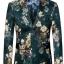 JM6102012 เสื้อสูทลำลองผู้ชายเสื้อสูทงานเลี้ยงพิมพ์ลายแบบตะวันตก thumbnail 3