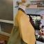 "Hanbok ส้มตัดเขียวปักมือดิ้นเงิน อก 37"" สูง 165 thumbnail 7"