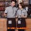 F6012013 เสื้อพนักงานต้อนรับ เสื้อพนักงานโรงแรม เสื้อฟอร์มพนักงาน ชุดฟอร์มพนักงาน thumbnail 1
