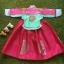 Hanbok Girl ฮันบกผ้าไหมชาววัง สำหรับเด็ก 3 ขวบ thumbnail 5