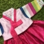 Hanbok Girl ฮันบกผ้าไหมชาววัง สำหรับเด็ก 2 ขวบ thumbnail 2