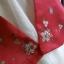 "Hanbok สีแดงตัดขาว อก 38"" สูง 160 thumbnail 6"