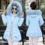 CW6011003 เสื้อโค็ชกันหิมะแต่งเฟอร์ขนผ้าฝ้ายโพลีเอสเตอร์ (พรีออเดอร์) thumbnail 3