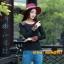 UM6102014 เสื้อยืดแขนยาวโมฮีเมียนสีดำและแดง เย็บปักถักร้อยชาติพันธุ์ thumbnail 3