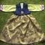 Hanbok Girl ฮันบกผ้าไหมสีเขียว สำหรับเด็ก 6 ขวบ thumbnail 1