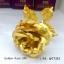 กุหลาบทอง24k Golden Rose (gold 99.99%) กล่องสีม่วง thumbnail 3
