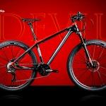 จักรยานเสือภูเขา Twitter รุ่น Devil 2018 เฟรม Top Alu สีดำแดง ล้อขนาด 27.5 นิ้ว ชุดขับ Shimano SLX 33 Speed โช๊คลมรีโมท กระโหลกกลวง ดุมล้อแบริ่งตลับ