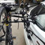 แร็คบรรทุกจักรยาน Rallex บรรทุกได้สูงสุด 3 คัน นับน้ำหนักรวม 50 กก.