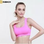 "Sport Bra "" Dübach"" สินค้าเกรดพรีเมี่ยม มาตรฐานเยอรมัน สีชมพูเข้ม Size S , L"