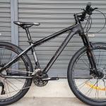 จักรยานเสือภูเขา Twitter รุ่น Devil 2018 เฟรม Top Alu สีดำล้วน ล้อขนาด 27.5 นิ้ว ชุดขับ Shimano SLX 33 Speed โช๊คลมรีโมท กระโหลกกลวง ดุมล้อแบริ่งตลับ