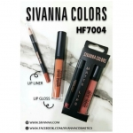 sivanna colors Matte lips HF7004 - charm for you ขายส่งเครื่องสำอาง ขายส่งอาหารเสริม ขายส่งสินค้ากระแสความงาม ของแท้ ปลีก-ส่ง