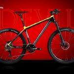 จักรยานเสือภูเขา Twitter รุ่น Devil 2018 เฟรม Top Alu สีดำเหลือง ล้อขนาด 27.5 นิ้ว ชุดขับ Shimano SLX 33 Speed โช๊คลมรีโมท กระโหลกกลวง ดุมล้อแบริ่งตลับ