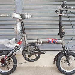 จักรยานพับล้อ 12 นิ้ว Tiger รุ่น London ปี 2018
