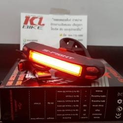 ไฟท้าย LED ยี่ห้อ S-Fight กล่องดำ 3 สีแดง