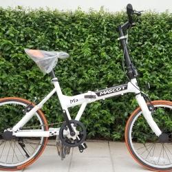 จักรยานพับ Sinle Speed ยี่ห้อ Mascot รุ่น M335 เฟรมเหล็ก ล้อและยางขนาด 20X1.35 น้ำหนักเบา