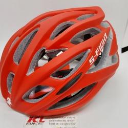 หมวกปั่นจักรยาน S-Fight รุ่น H17 สีแดงล้วน