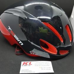 หมวกปั่นจักรยาน ทรงแอโร่ Team Size L รอบหัว 57 ถึง 62 ซม. ผลิตจากวัสดุชั้นดี น้ำหนักเบา