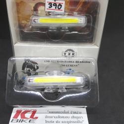 ไฟกระพริบสีขาว XYK ใช้เป็นไฟหน้า และไฟสัญญาณได้ ระบบชาร์จ USB