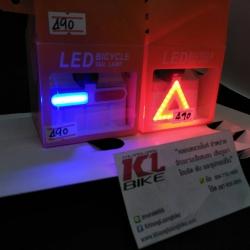 ไฟท้าย LED สว่างสุดๆ ทรงป้ายจราจร และไฟตำรวจ