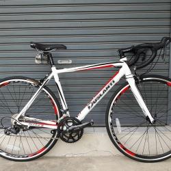 จักรยานเสือหมอบ Duslanti Mito 8 เฟรมอลูมิเนียม 6061 ซ่อนสายลบรอยเชื่อม ชุดเกียร์ Shimano Claris 16 Speed แบบมือตบ กระโหลกซีลแบริ่ง