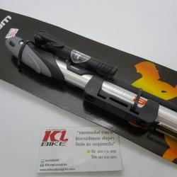 สูบลมพกพา Team รุ่น TM71 Max Pressure 140 PSI กระบอกอลูมิเนียม มีสาย พร้อมเกจจ์วัดลม