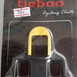 แผ่นคลีน Tiebao สีเหลือง 6 องศา ใช้กับบันได Shimano