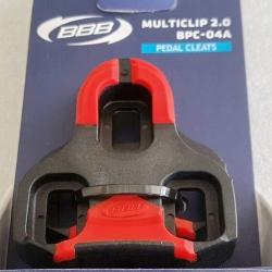 แผ่นบันไดคลีต BBB Made on Taiwan ใช้กับบันไดคลีต Look ได้