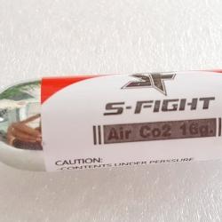 แทงค์เติมลม Co2 S-Fight บรรจุ 16 กรัม