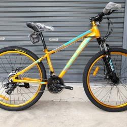 จักรยานเสือภูเขา Pioneer รุ่น Flying 27.1 เฟรมอลูมิเนียม 6061 ชุดเกียร์ Shimano Tourney 21 Speed มีบาร์เอนพักมือ