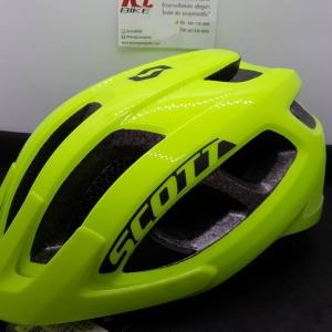Hot Promotion หมวก MTB Scott รุ่น Supra สีเหลืองนีออน