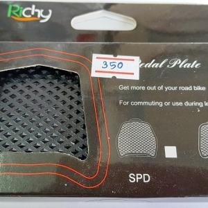 แผ่นรองบันไดคลีต Pedal Plate สำหรับใช้รองเท้าทั่วไปปั่น ยี่ห้อ Ritchy รุ่น Keo ใช้กับบันได Look