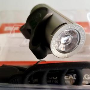 ไฟหน้าทรงกลมกระบอก Raypal รุ่น RPL2289 ความสว่าง 250 ลูเมน USB Charge ติดตั้งกับแฮนด์จักรยานง่ายดาย