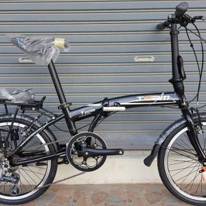 จักรยานพับเฟรมอลูมิเนียม สุดยอดด้วยดุม Novatec เกียร์ Claris 8 Speed ยี่ห้อ Team รุ่น F2095